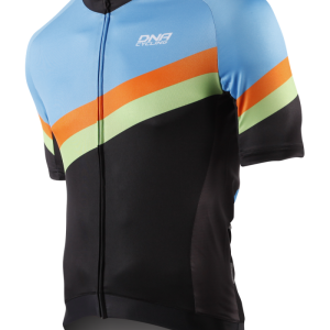 DNA Males Jersey Asolo S/S blue orange green front