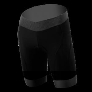 dna womens black shorts grey cuff