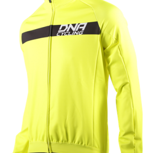 DNA Soft Shell Winter Jacket Fluorescent Yellow and Black
